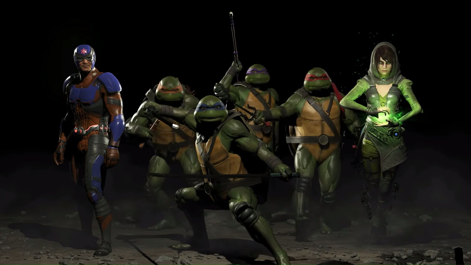 Injustice 2: Ninja Turtles, Atom and Enchantress make up Fighter Pack 3