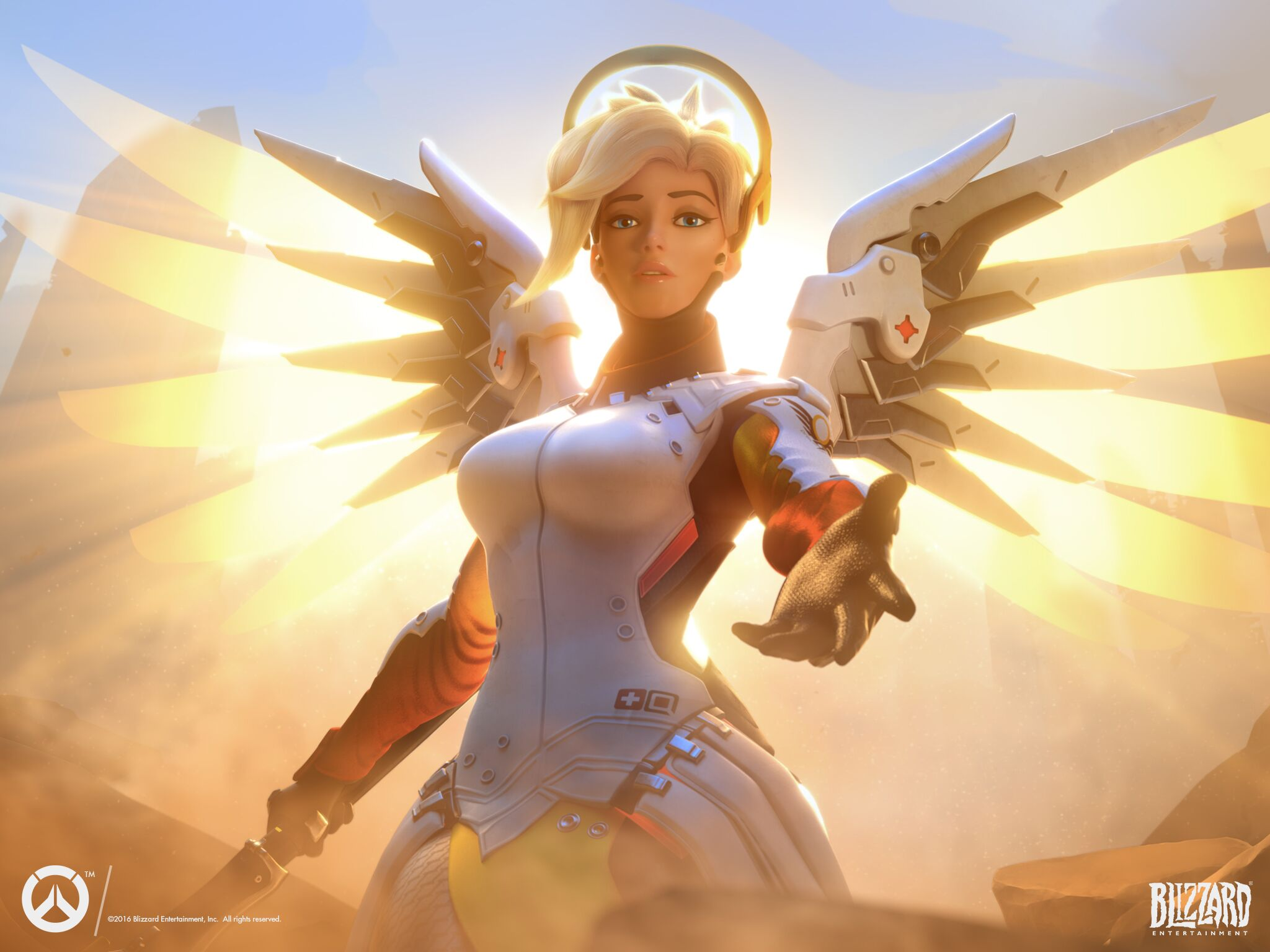 Ability to cancel Mercy's Resurrect might be coming to Overwatch