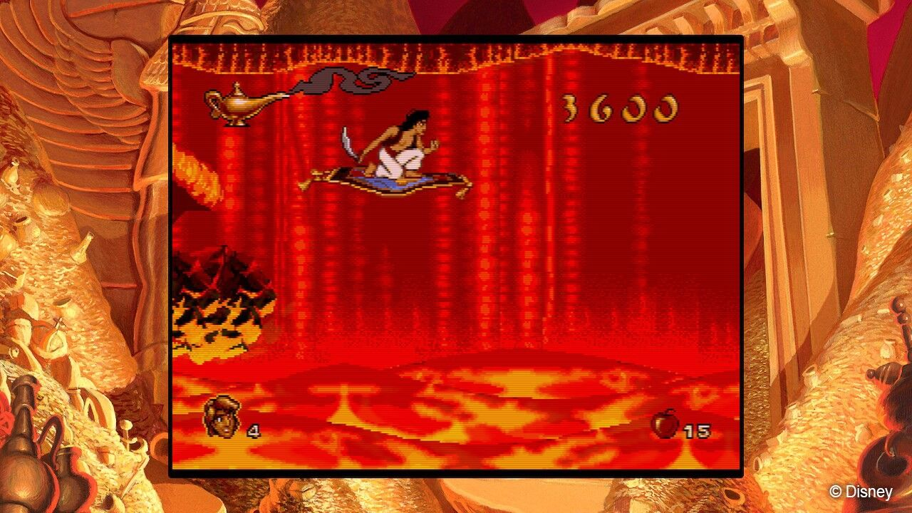 One patch ahead: Genesis Aladdin gets a patch in Disney Classics release