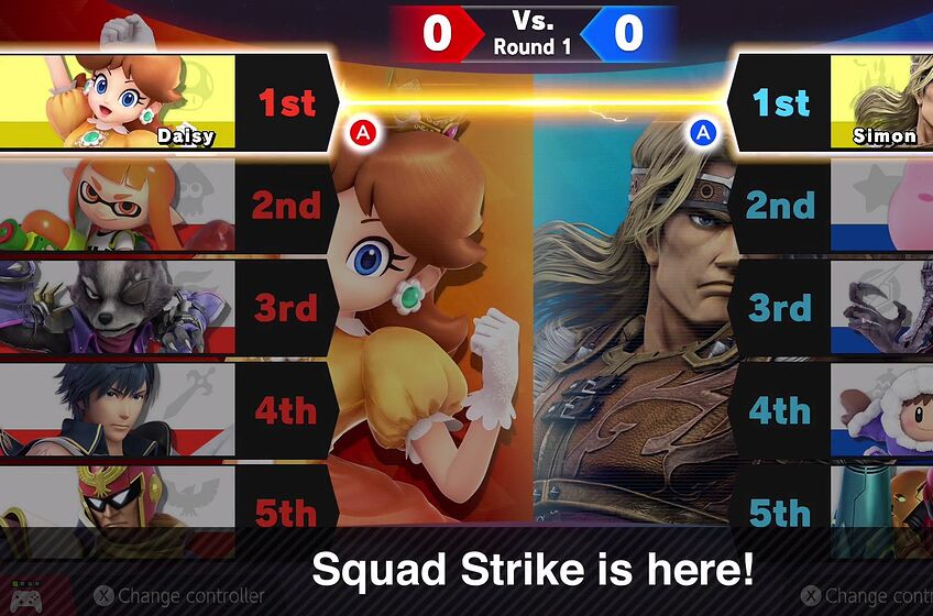 Super Smash Bros  Ultimate: Squad Strike, Smashdown and other modes