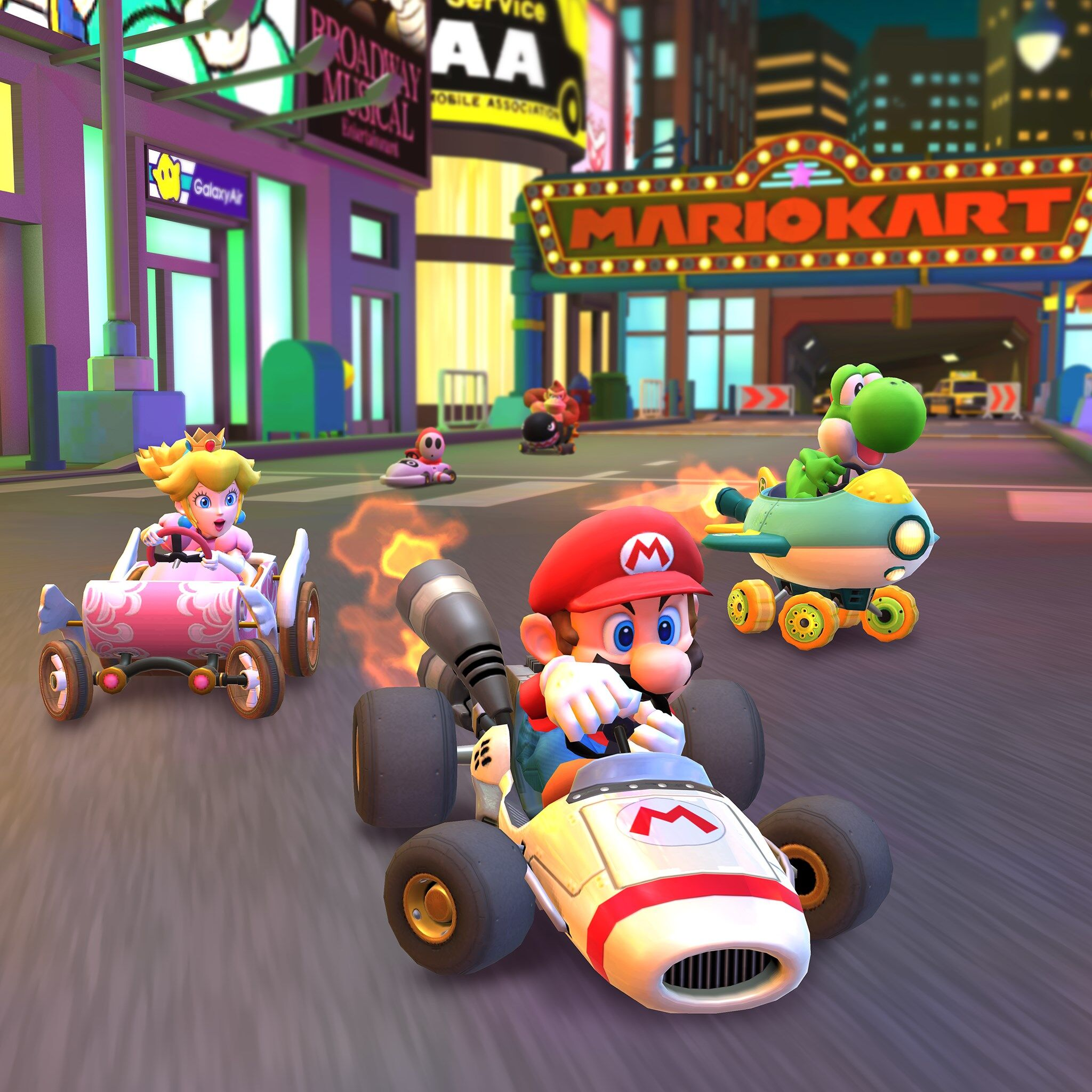 Mario Kart Tour is ringing in 2020 with a New Year's Tour