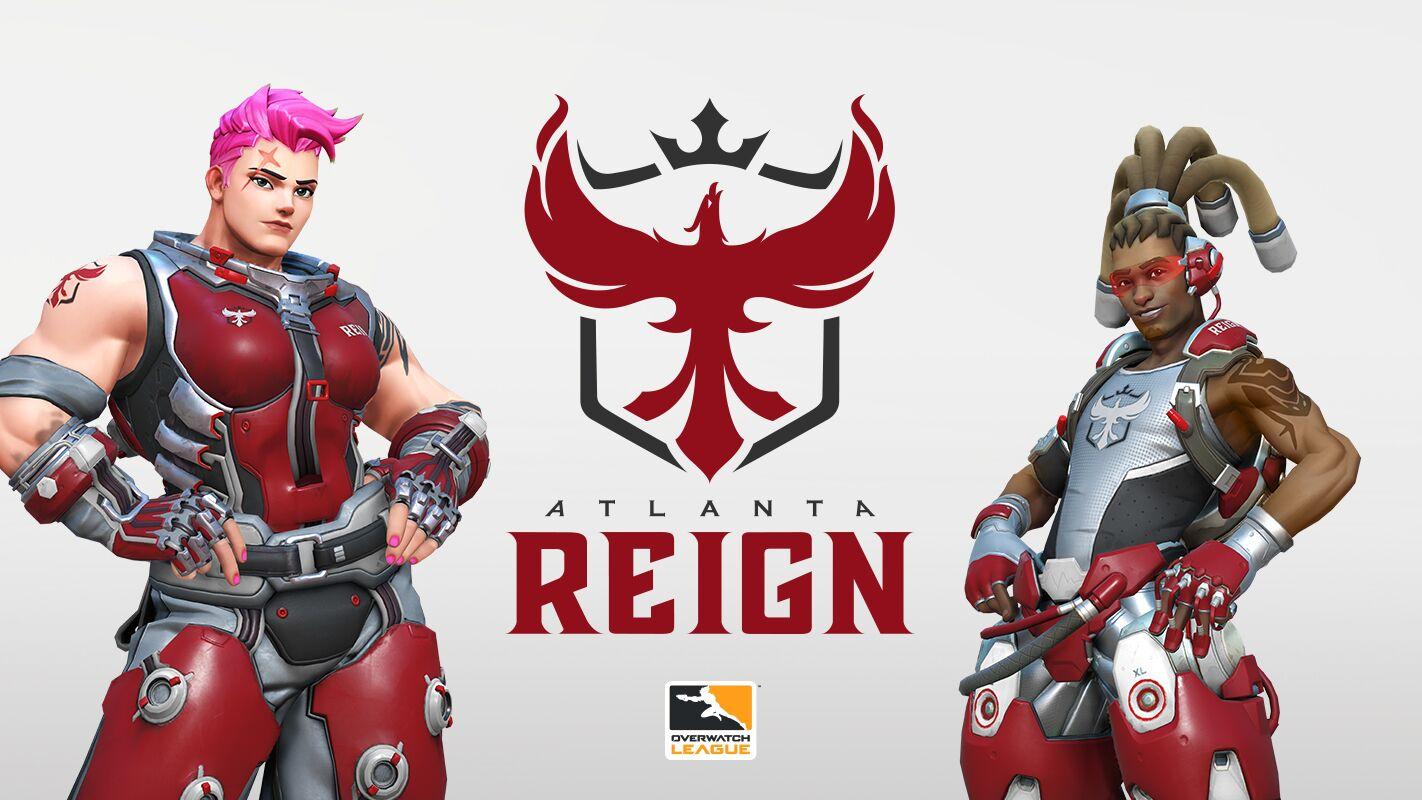 Flipboard Atlanta Reign Team Branding Revealed For