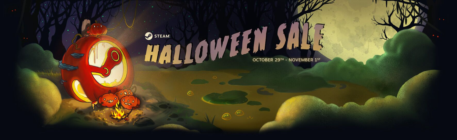 Steam Halloween Sale 2018 aims for scarily low savings
