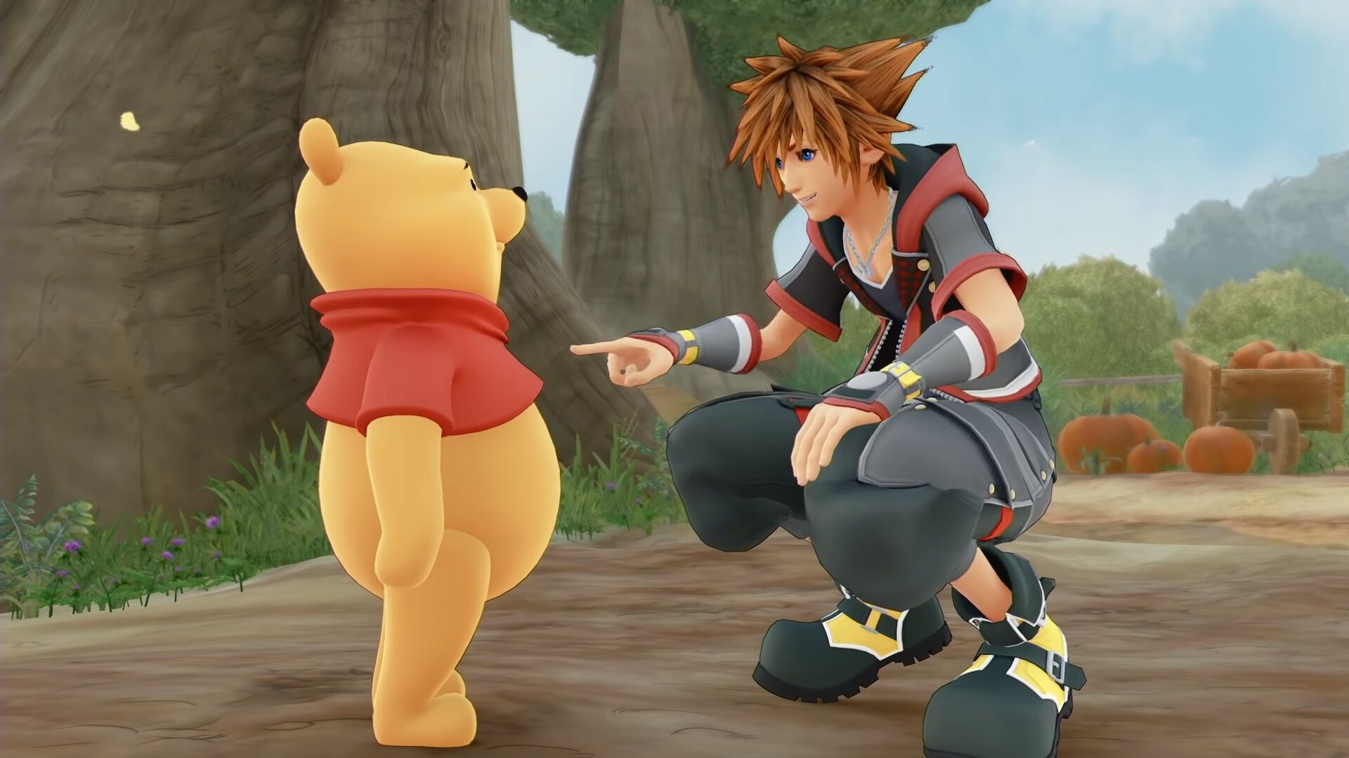 Oh bother! Winnie-the-Pooh gets his Kingdom Hearts 3 introduction