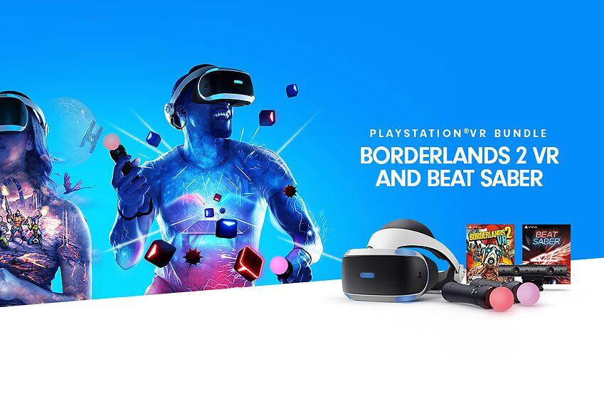 PSVR bundle features Beat Saber and Borderlands 2 VR