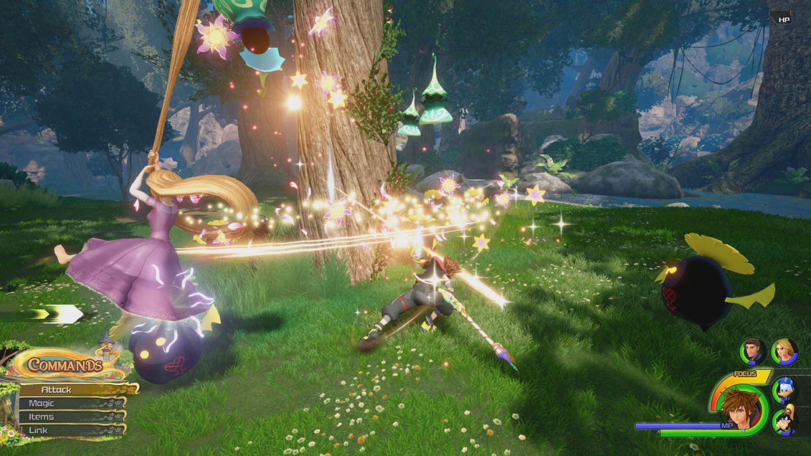 Kingdom Hearts 3 has a dream: Tangled gameplay trailer