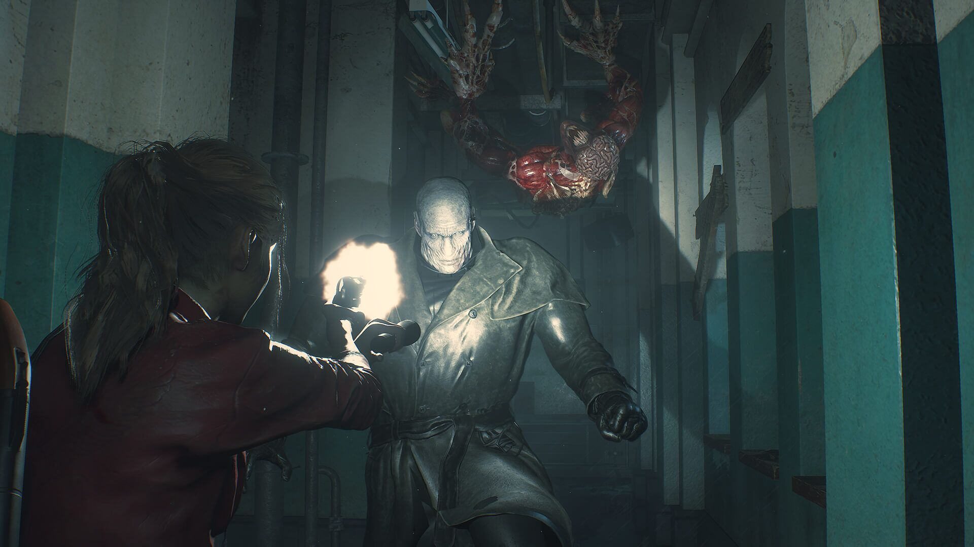 Resident Evil 2 S Mr X Tyrant Is Officially Pissing Off The