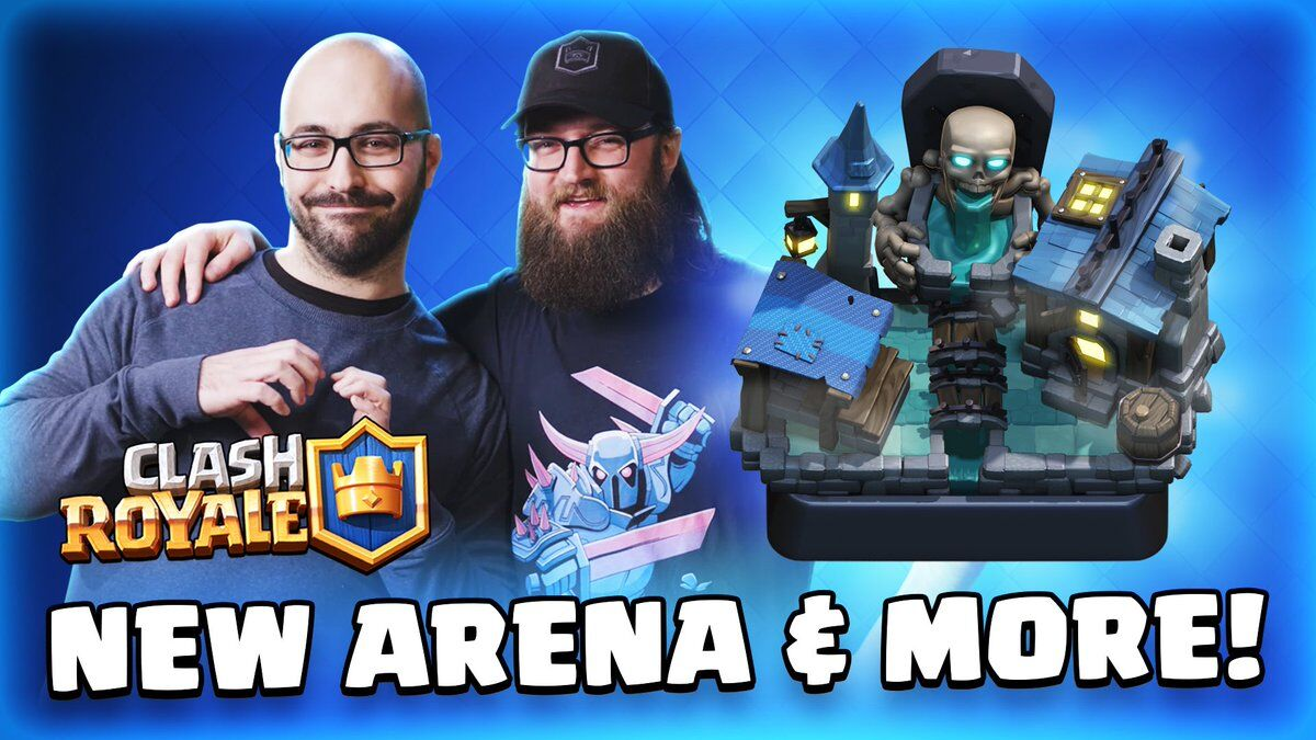 Clash Royale's January update brings Trade improvements, a new Arena, Card and two modes