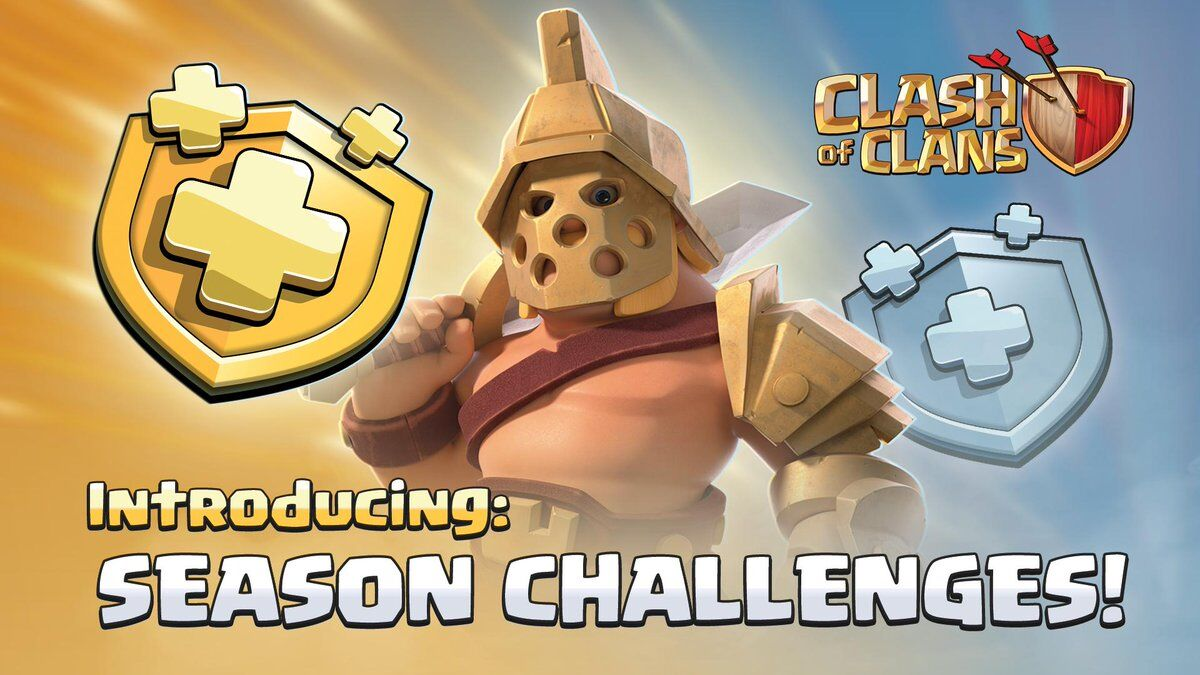 clash of clans spring 2019 update to add season challenges. Black Bedroom Furniture Sets. Home Design Ideas