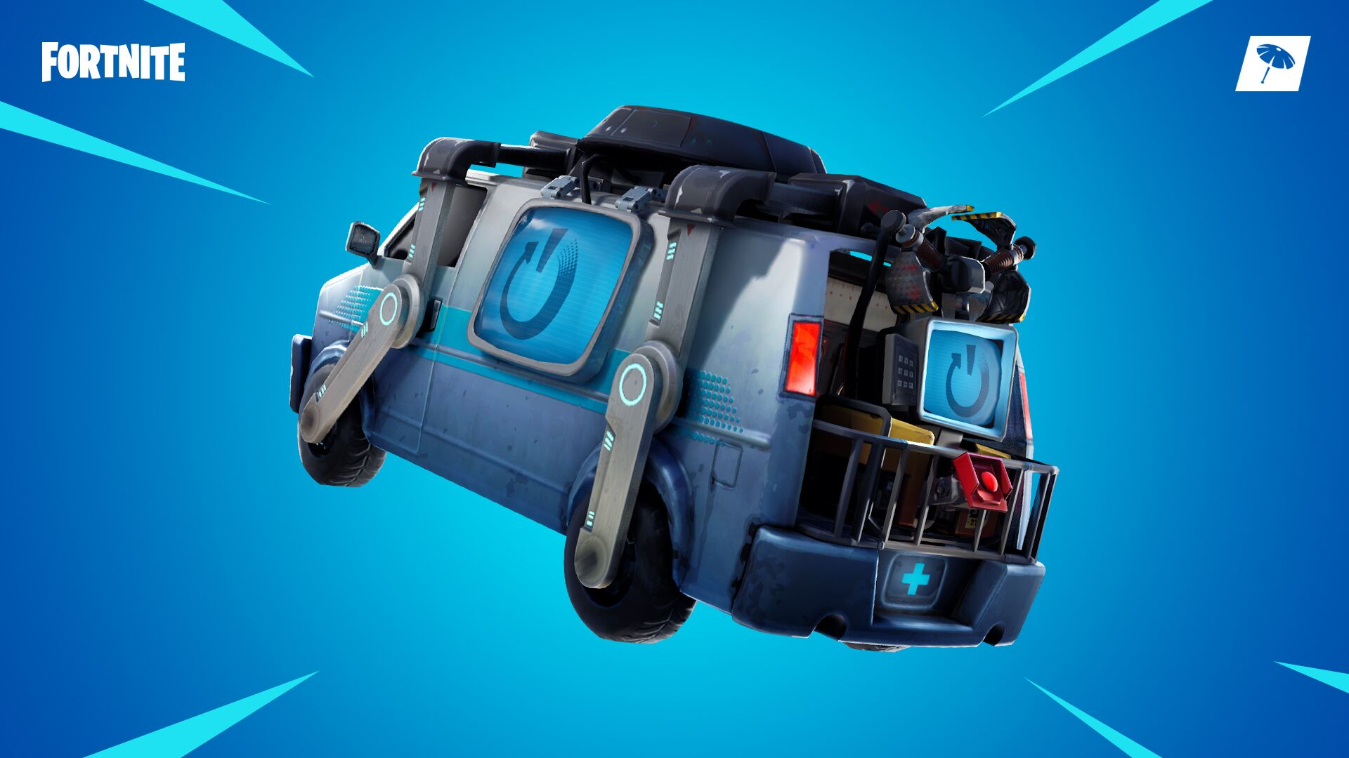 Reboot van added to Fortnite, similar to Apex Legends' respawn system
