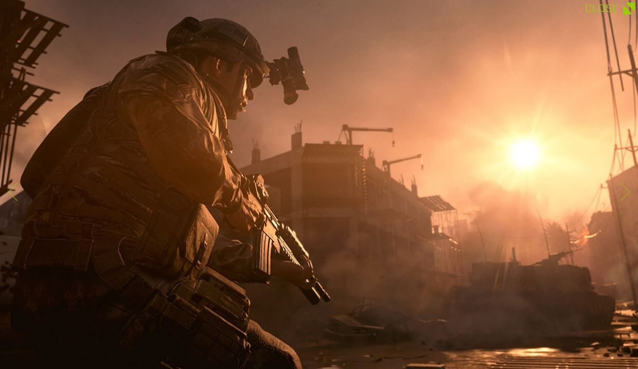 Same Old War – This year's Activision shooter entry is Call of Duty: Modern Warfare, per report