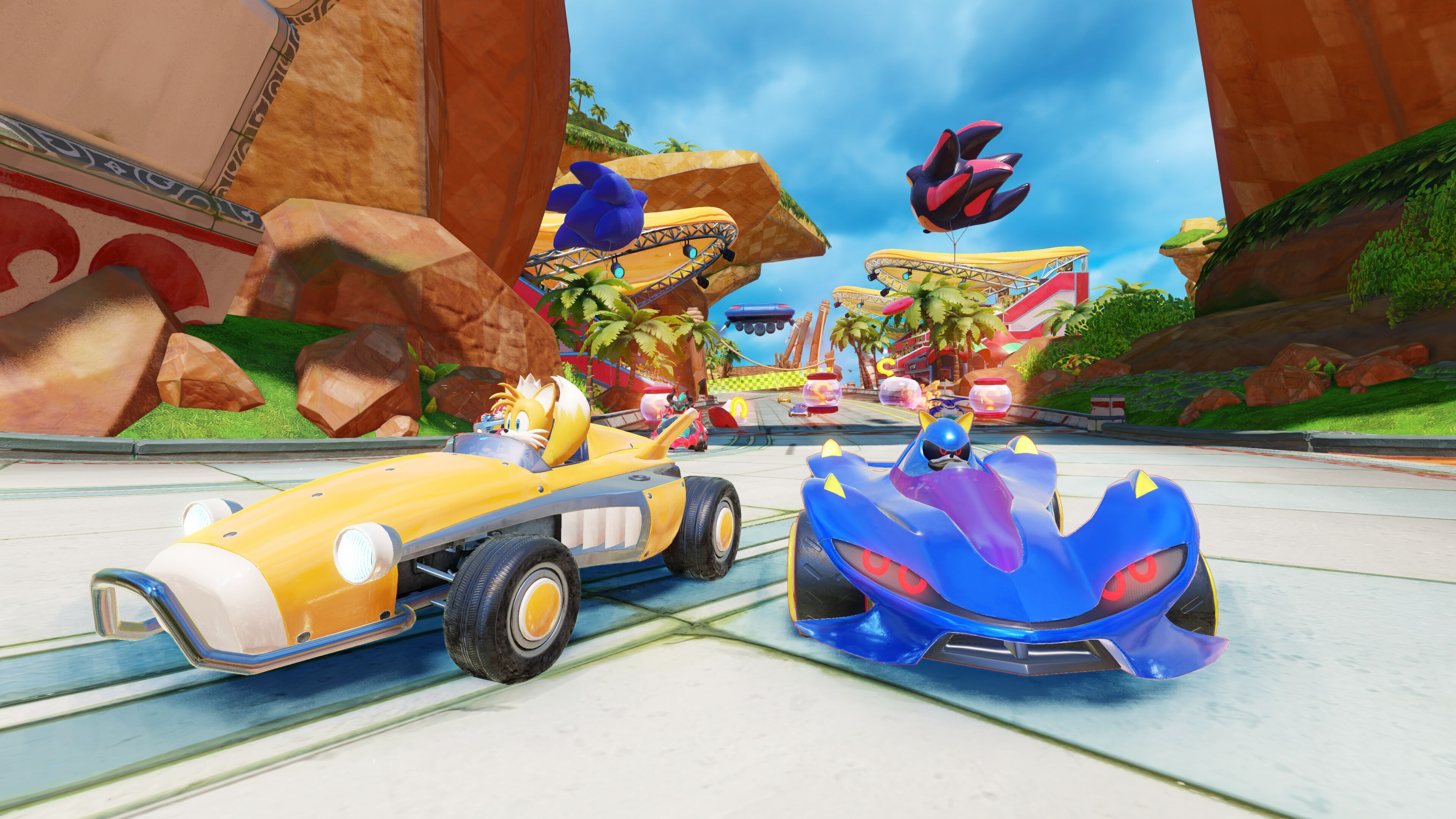 Team Sonic Racing drivers canonize Sonic characters' anime preferences