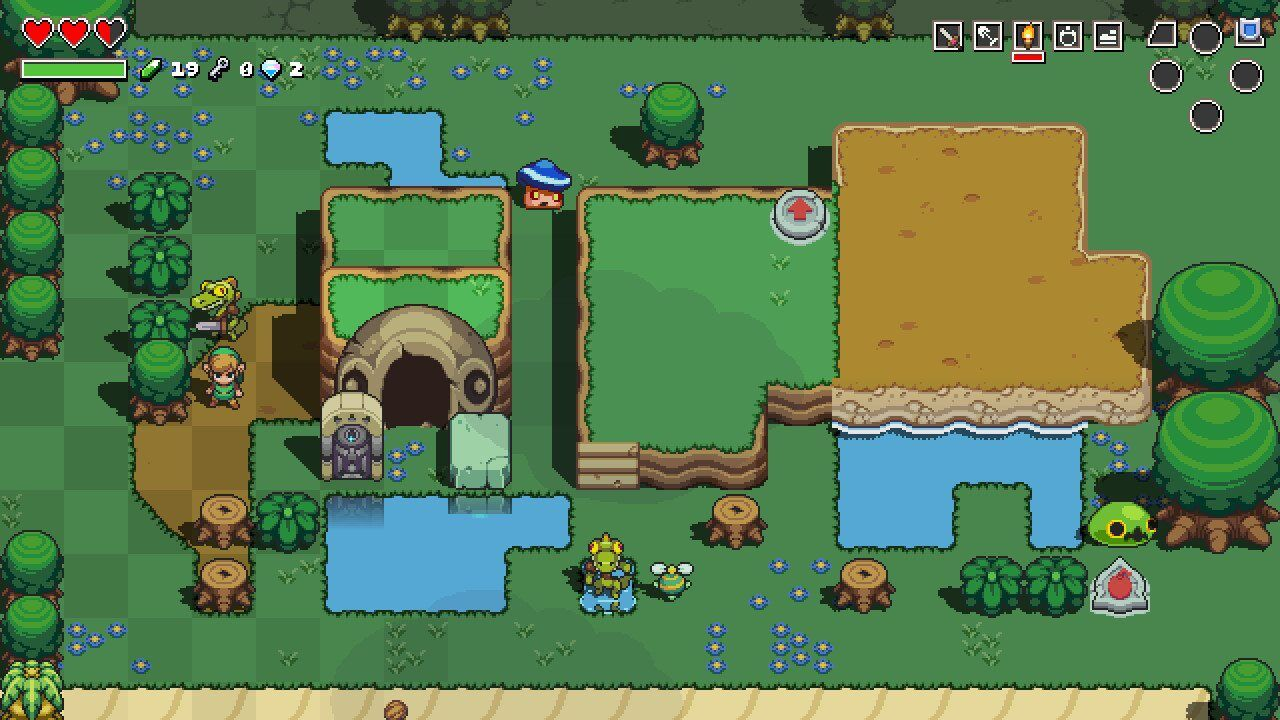 Cadence of Hyrule: Can you play without the rhythm mode?