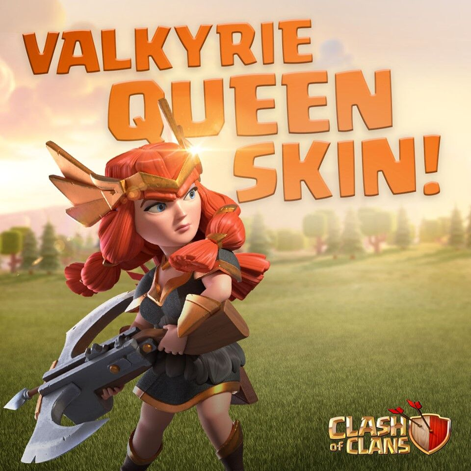 Clash of Clans July Season Challenges live with Valkyrie Queen as a reward