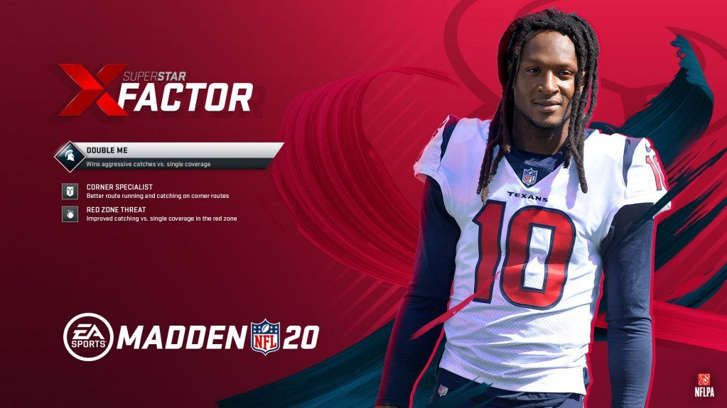 Madden 20: Texans' WR DeAndre Hopkins rounds out the 99 Club