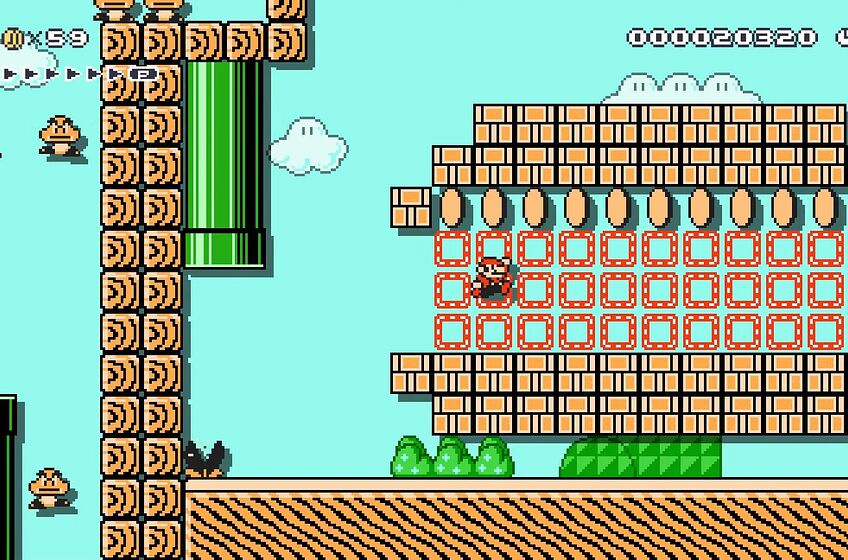 Super Mario Maker 2 Arby's level leaves a lot to be desired