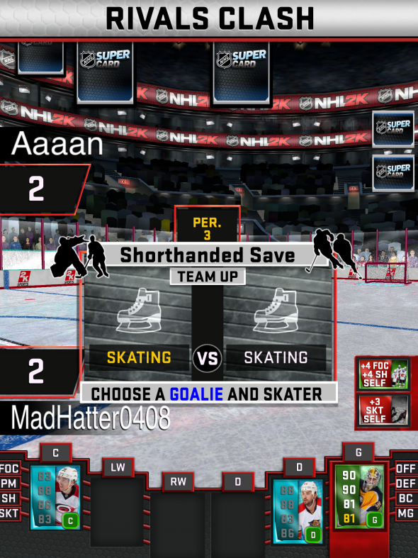 NHL SuperCard Tips, Tricks And Hints
