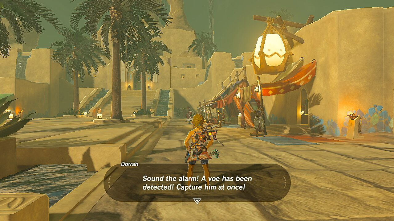 Great Reactions to Link Naked in Breath of the Wild