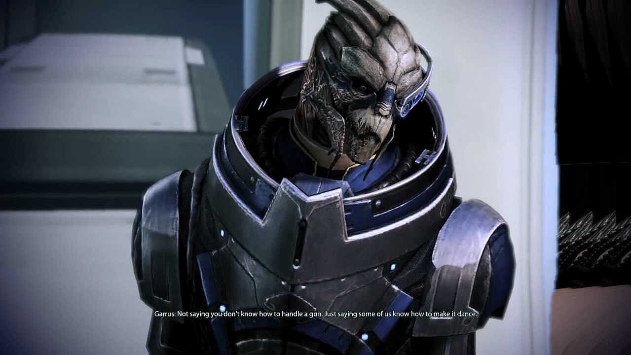 Dating garrus