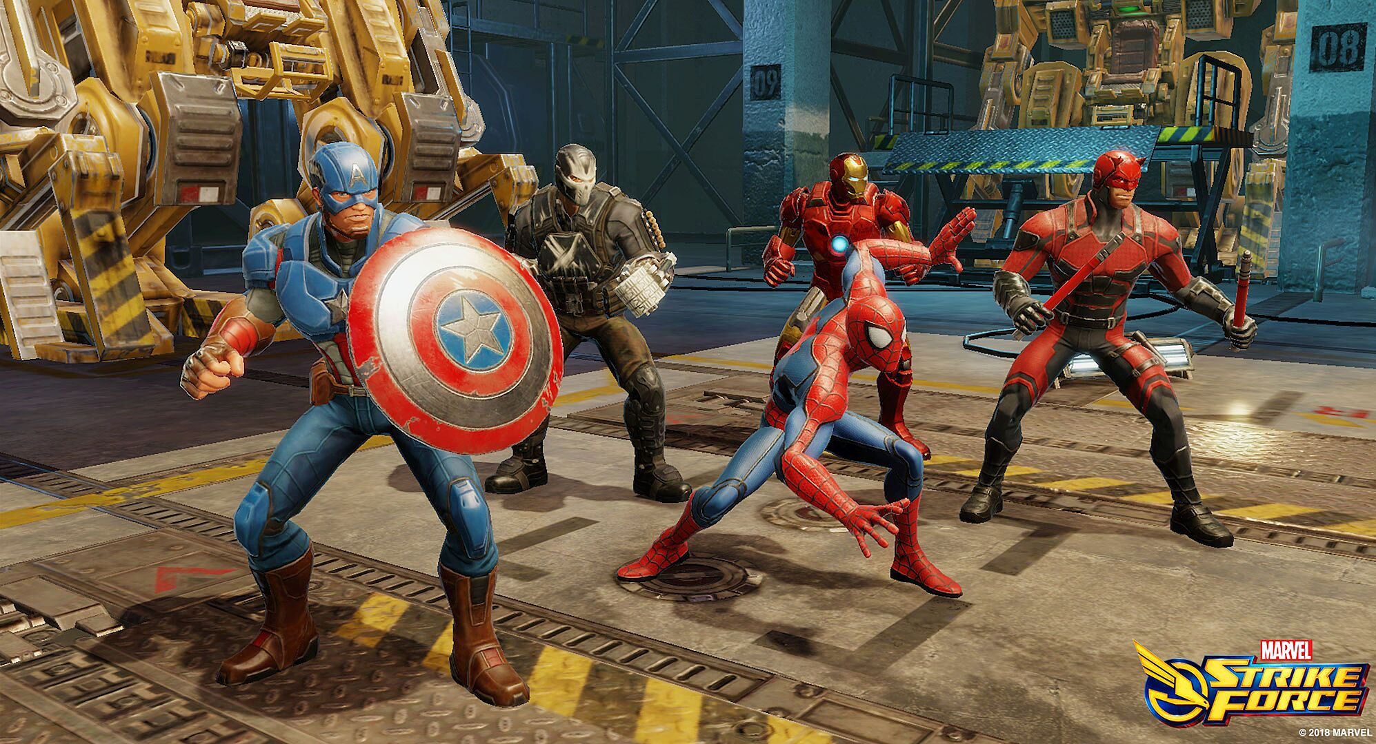 venom marvel strike force