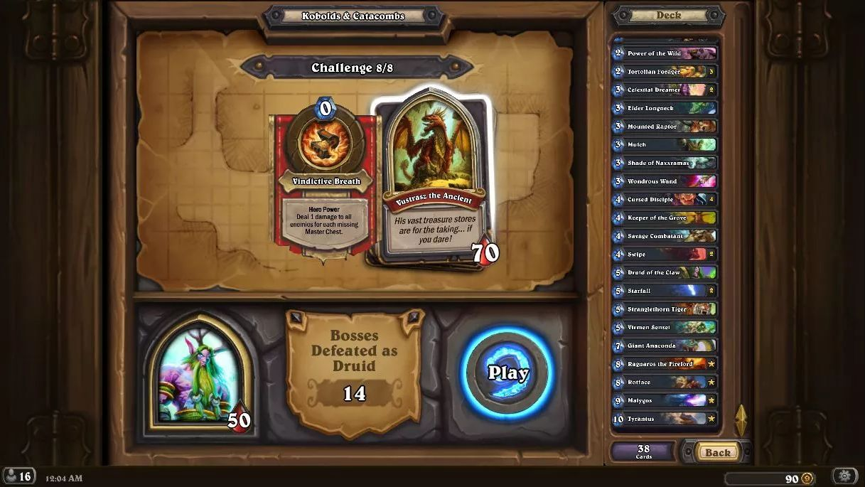 how to change the font in hearthstone play mode