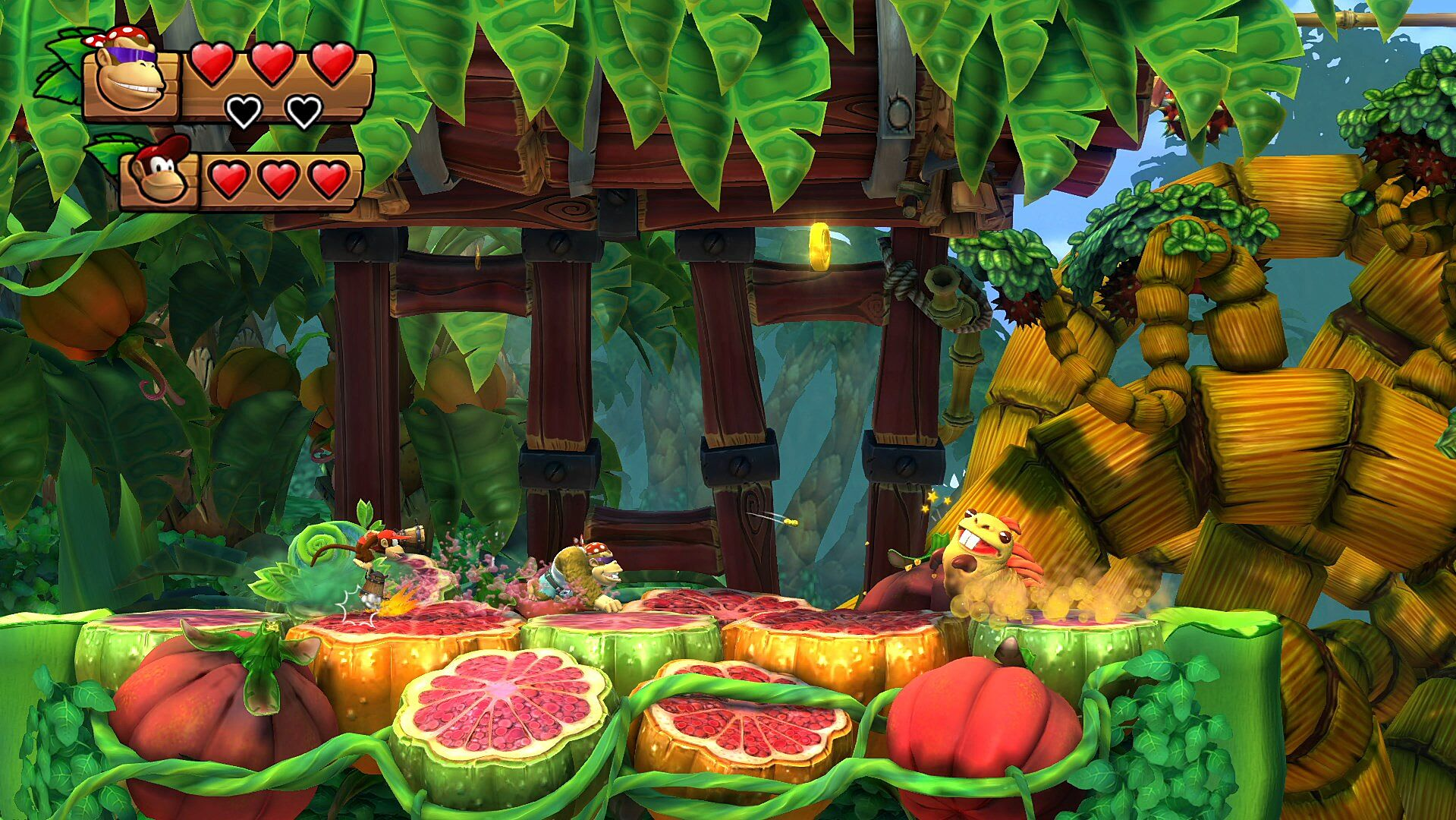 Donkey Kong Country: Tropical Freeze review - Play that funky music