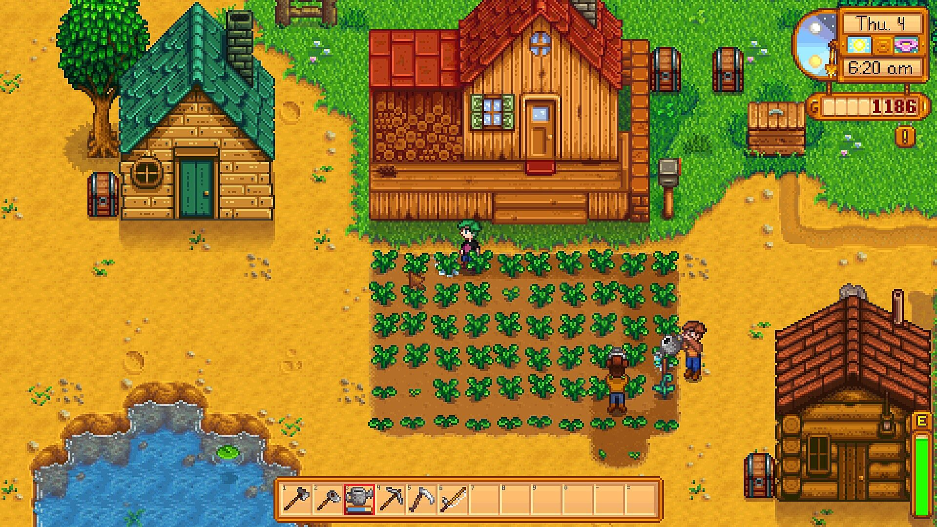 Stardew Valley multiplayer beta preview: The valley comes alive