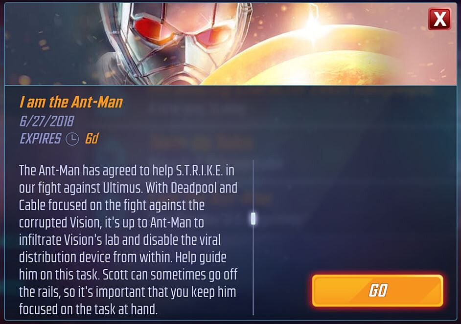 Marvel Strike Force: Ant-Man added, here's how to unlock him