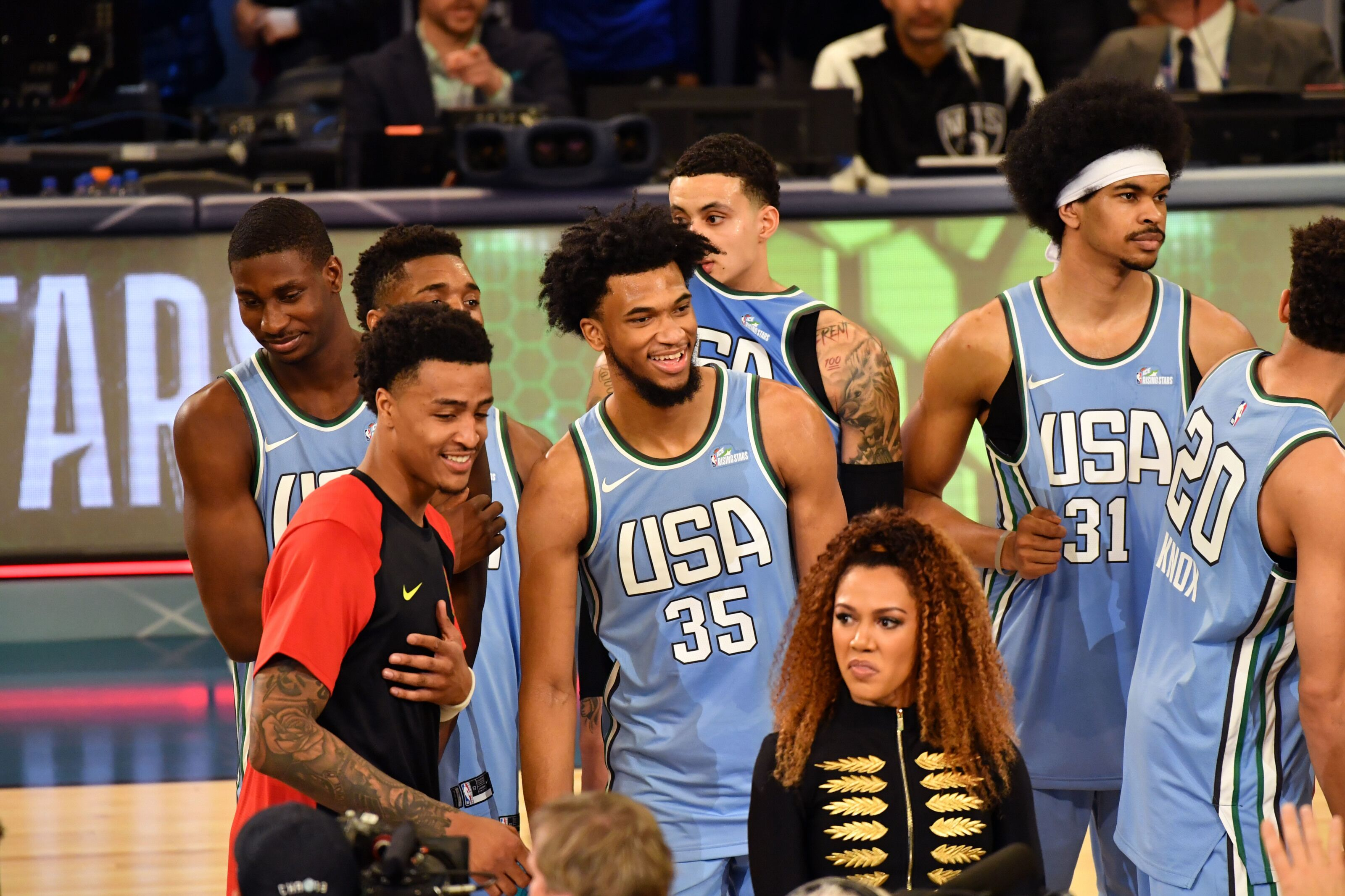 Sacramento Kings Were Well Represented In NBA Rising Stars Challenge 624662773
