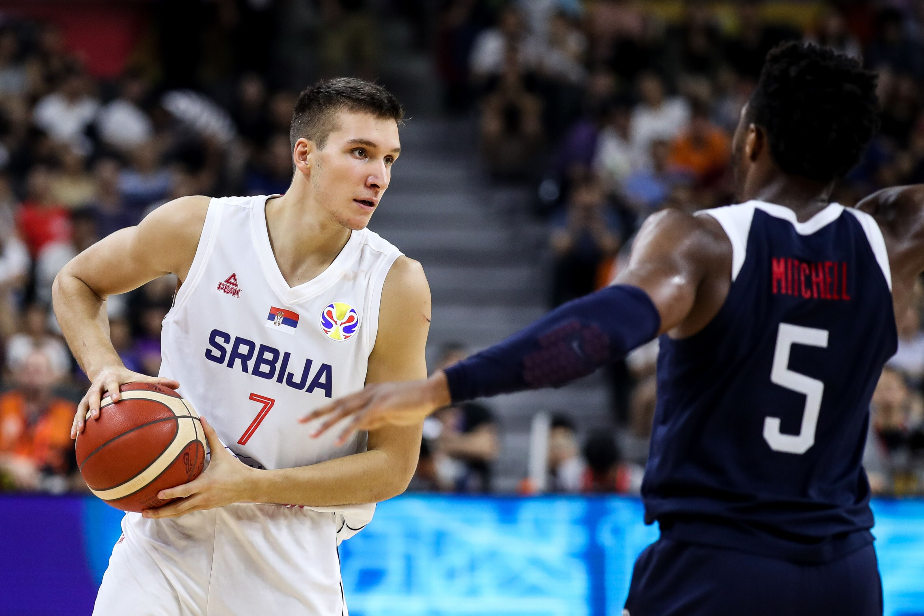Sacramento Kings: Bogdan Bogdanovic Leads Serbia Past USA