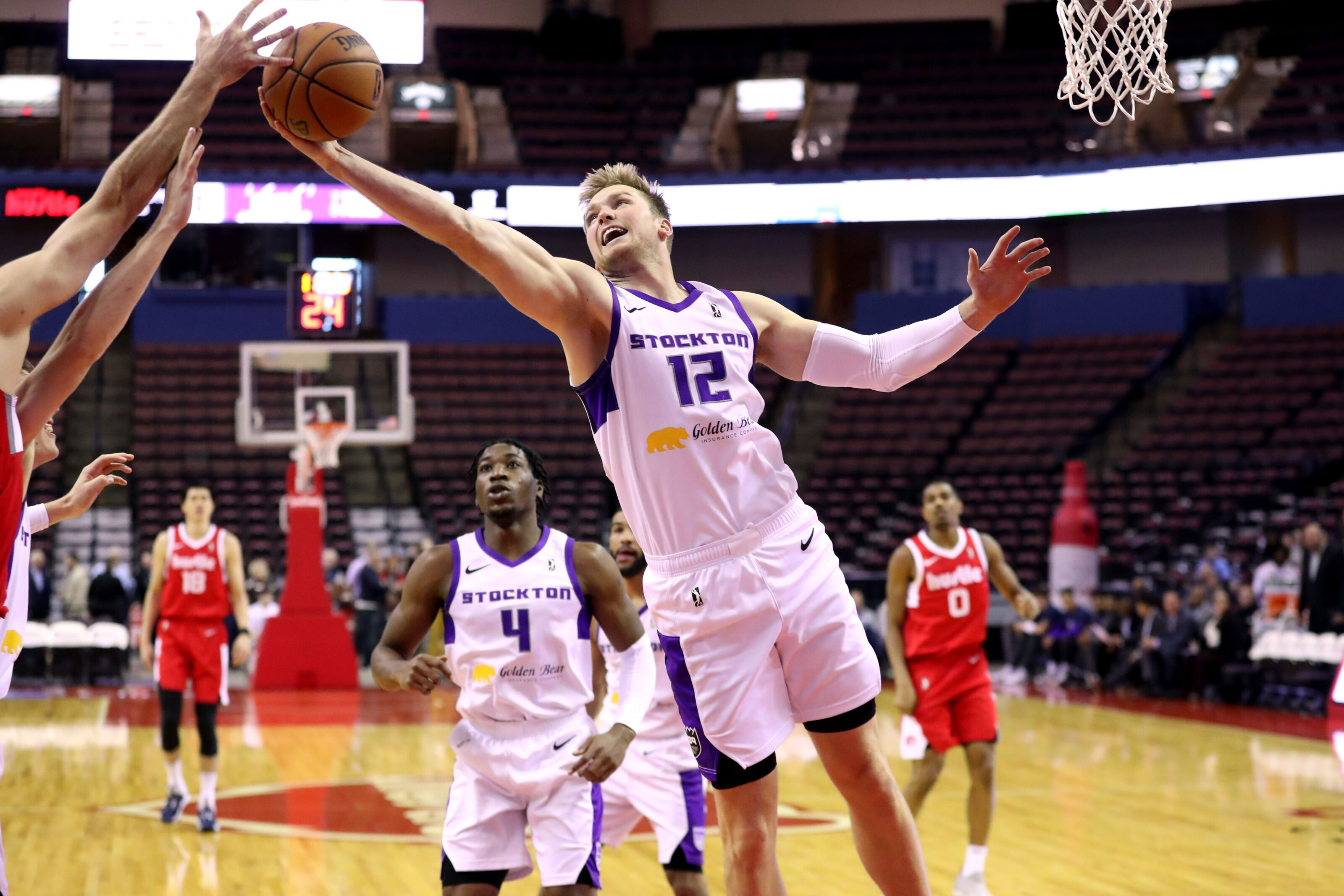 Stockton's Eric Mika Is Leading G-League In Rebounds