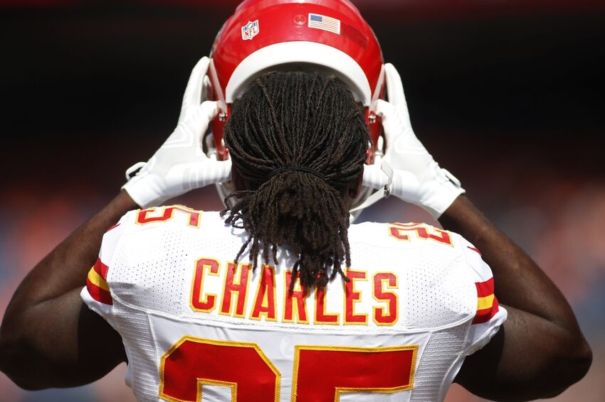Kansas City Chiefs Inactives Jamaal Charles Will Not Play