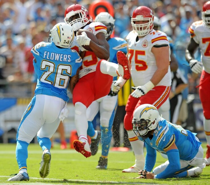 San Diego Chargers Football Radio: Jamaal Charles Exhibited Concussion-like Symptoms Sunday