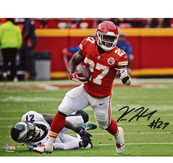 Kareem Hunt Kansas City Chiefs Fanatics Authentic Autographed Riddell Speed  Mini Helmet f58061bdc