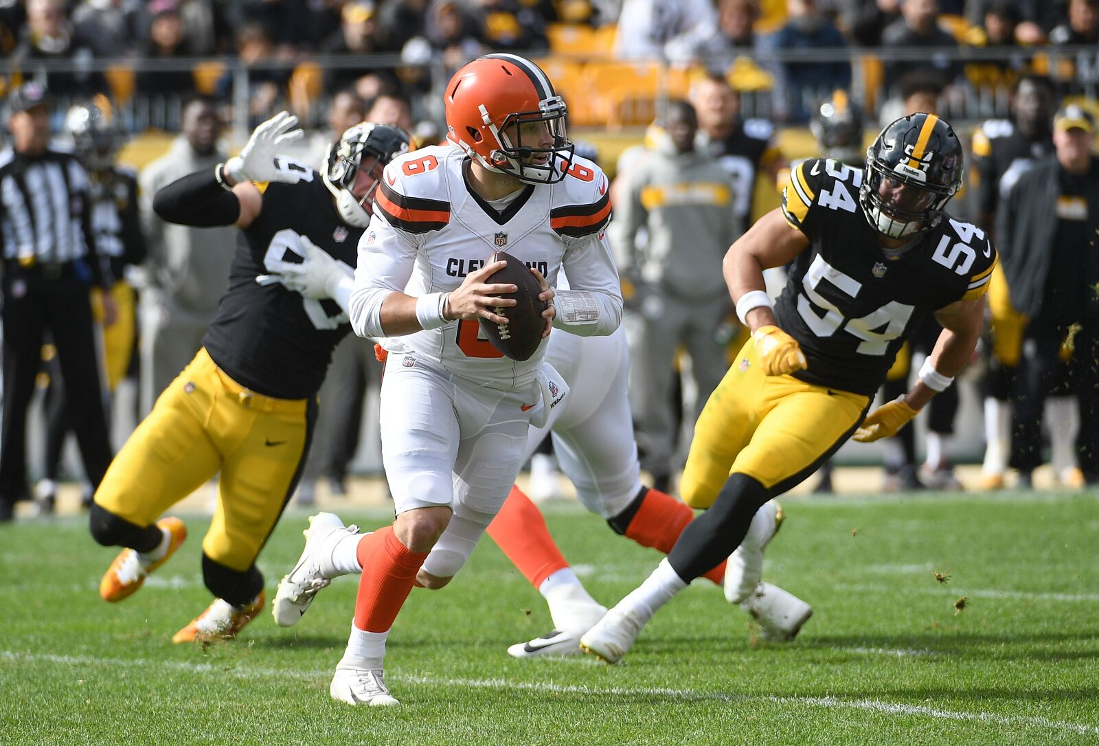 Denzel Ward, Myles Garrett are young challengers for the Chiefs great offense
