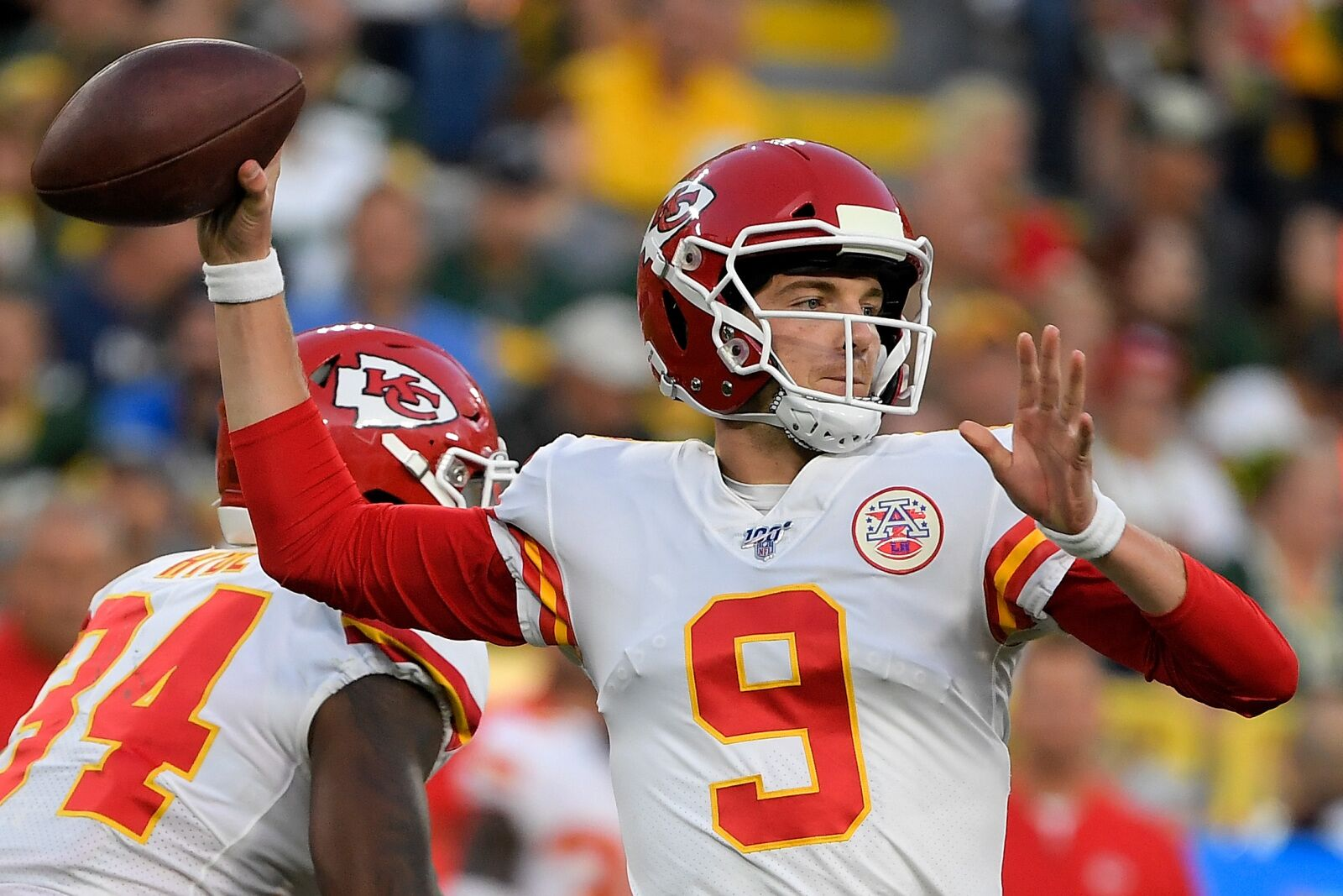 Kyle Shurmur could find himself on the Chiefs active roster soon