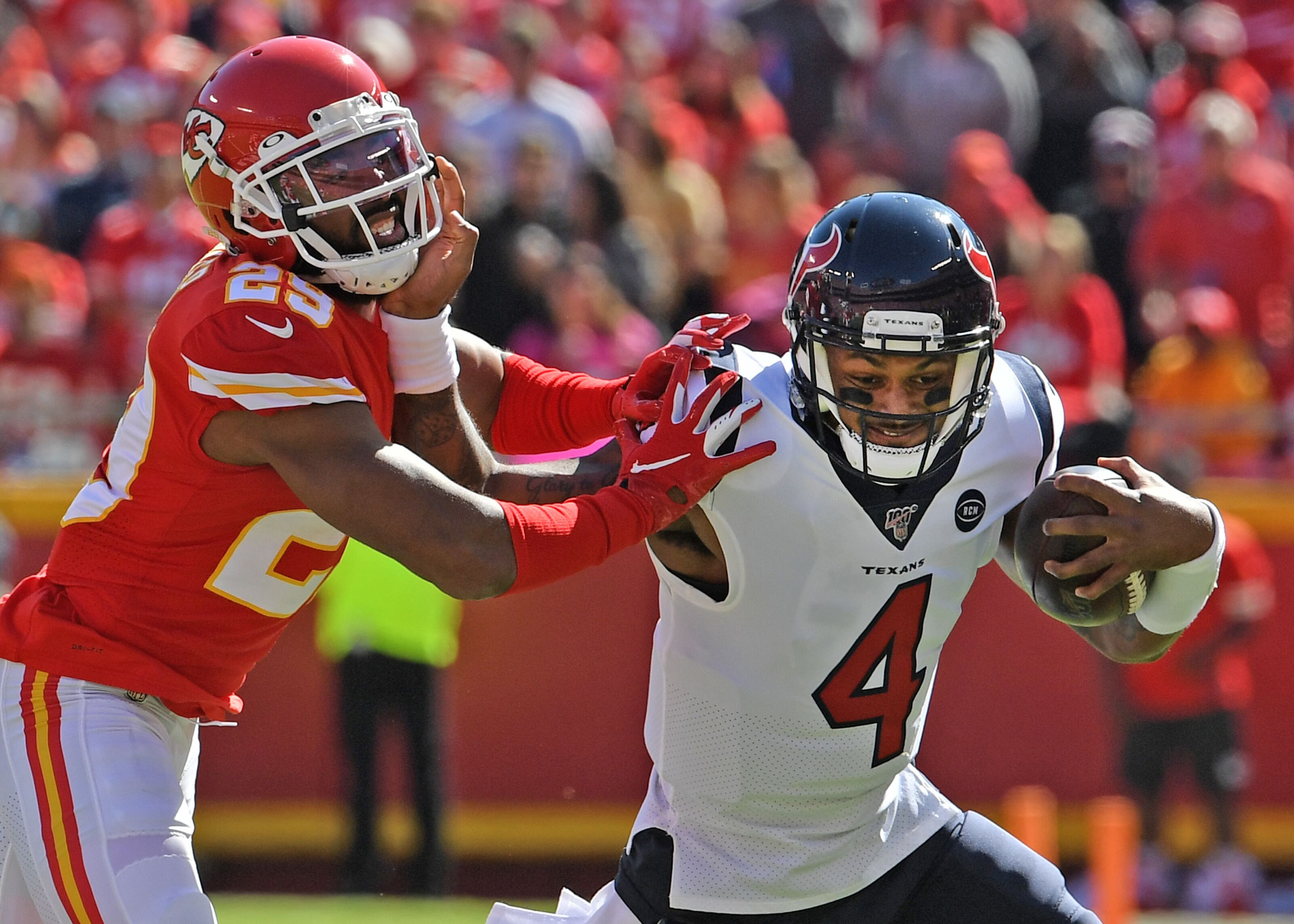 Kansas City Chiefs look downright pitiful in loss to the Houston Texans