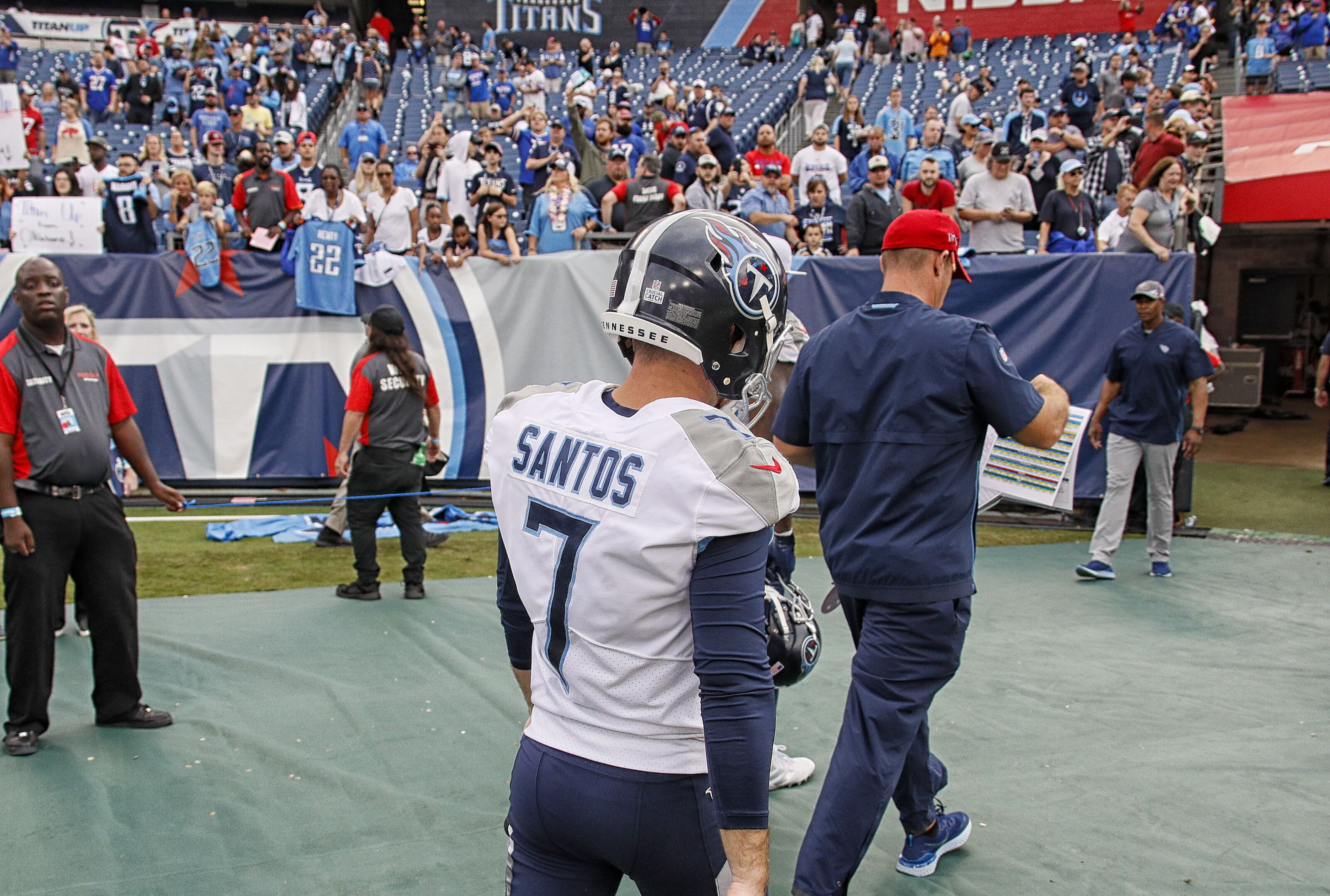 Tennessee Titans give Cairo Santos the boot