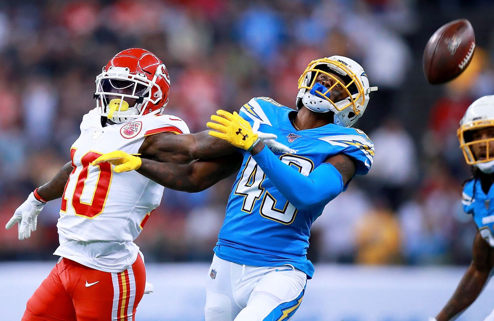 Tyreek Hill receives good news about injured hamstring
