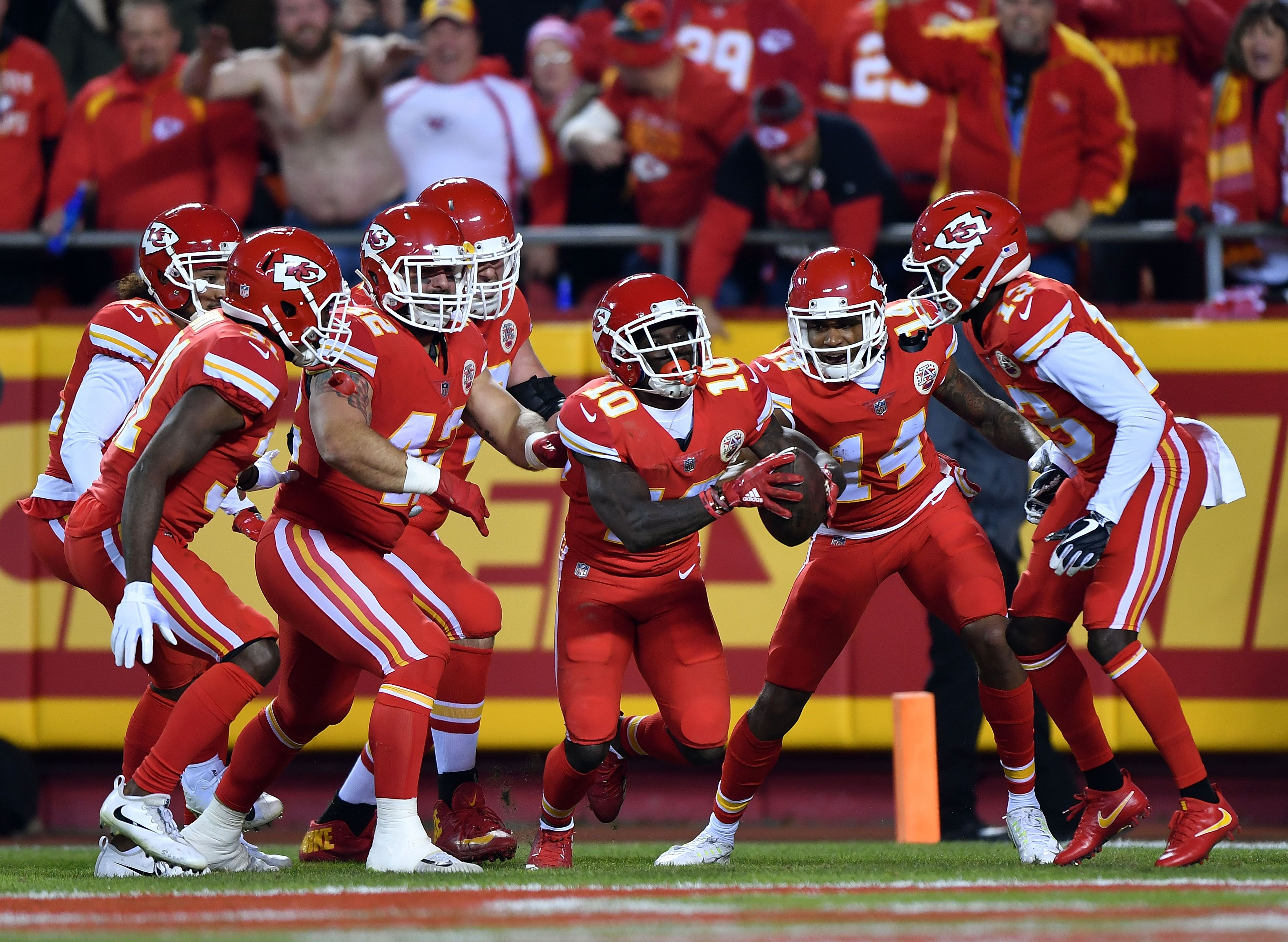 b656ccc4c Kansas City Chiefs will be able to wear more red-on-red uniforms in 2018