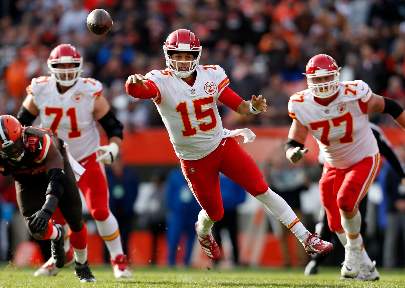 a1cf78275 Patrick Mahomes has become the best quarterback in the NFL