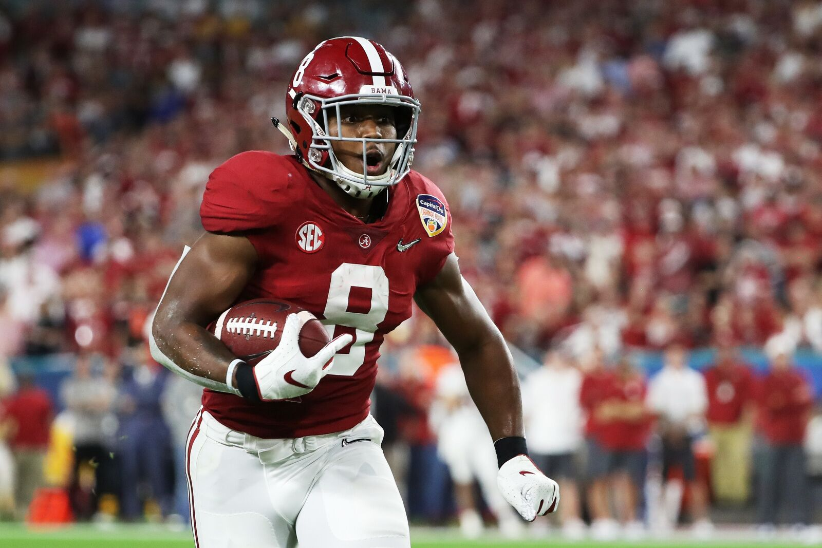 Could Josh Jacobs From Alabama Make The Kc Offense Even Better