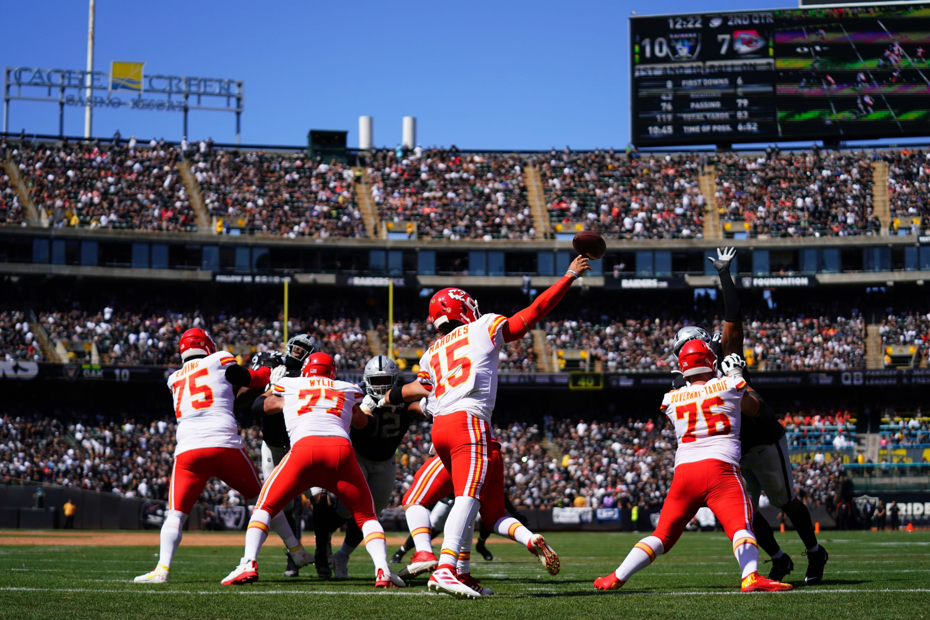 The Kansas City Chiefs have made the rest of the NFL boring