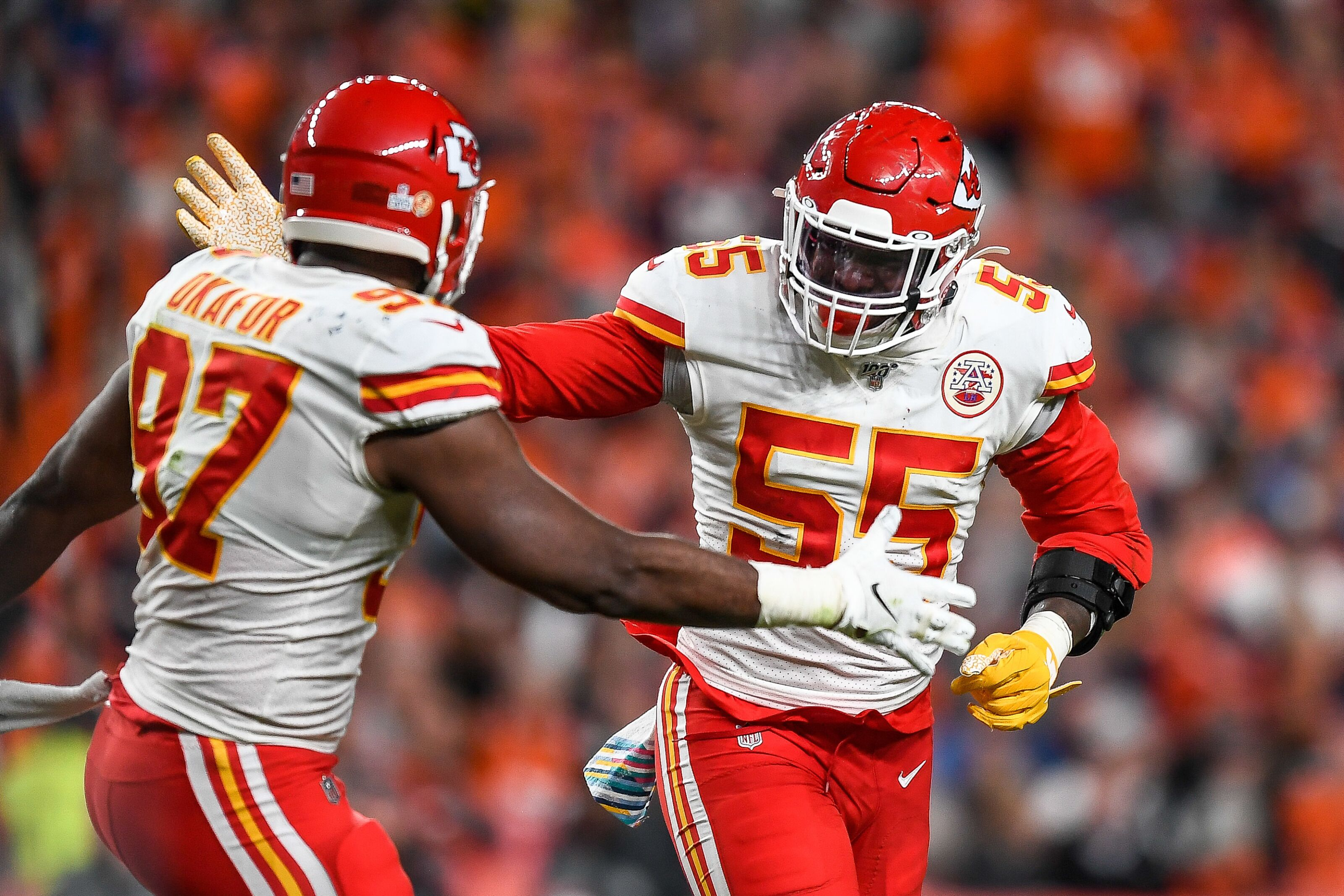Broncos vs. Chiefs: Alex Okafor ruled out with chest injury