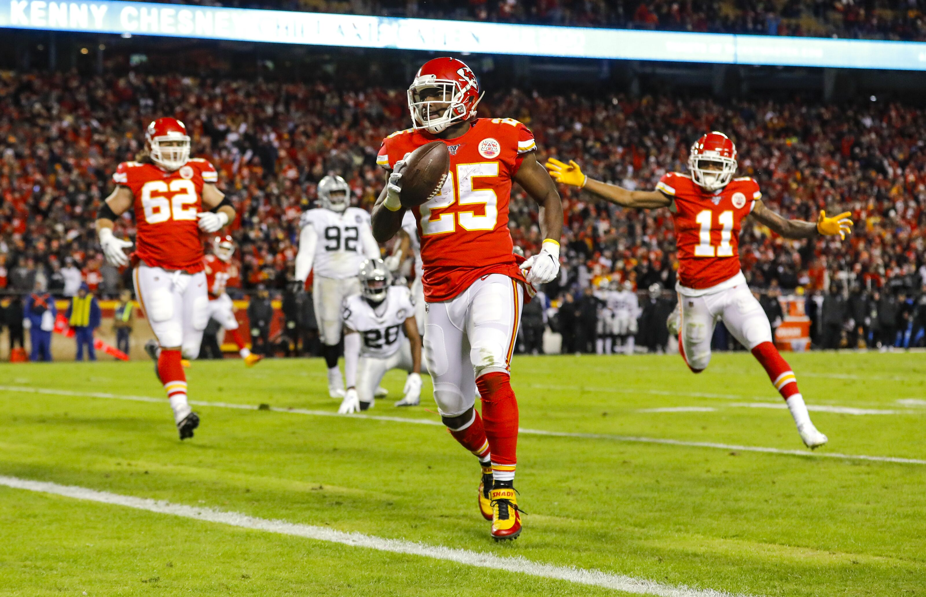 LeSean McCoy has been a missing person for the Chiefs postseason