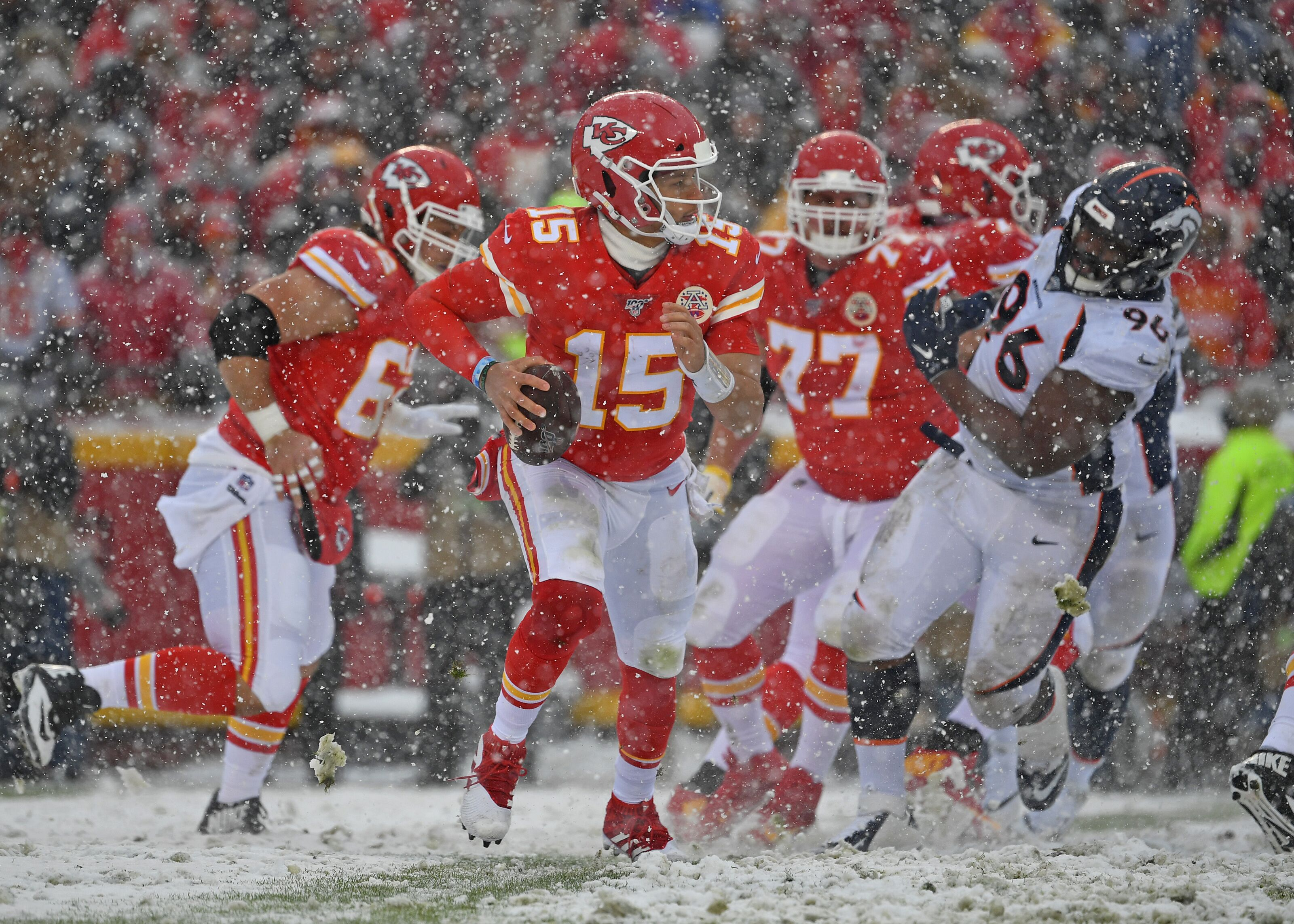 The Kansas City Chiefs look like Super Bowl contenders in win over Broncos