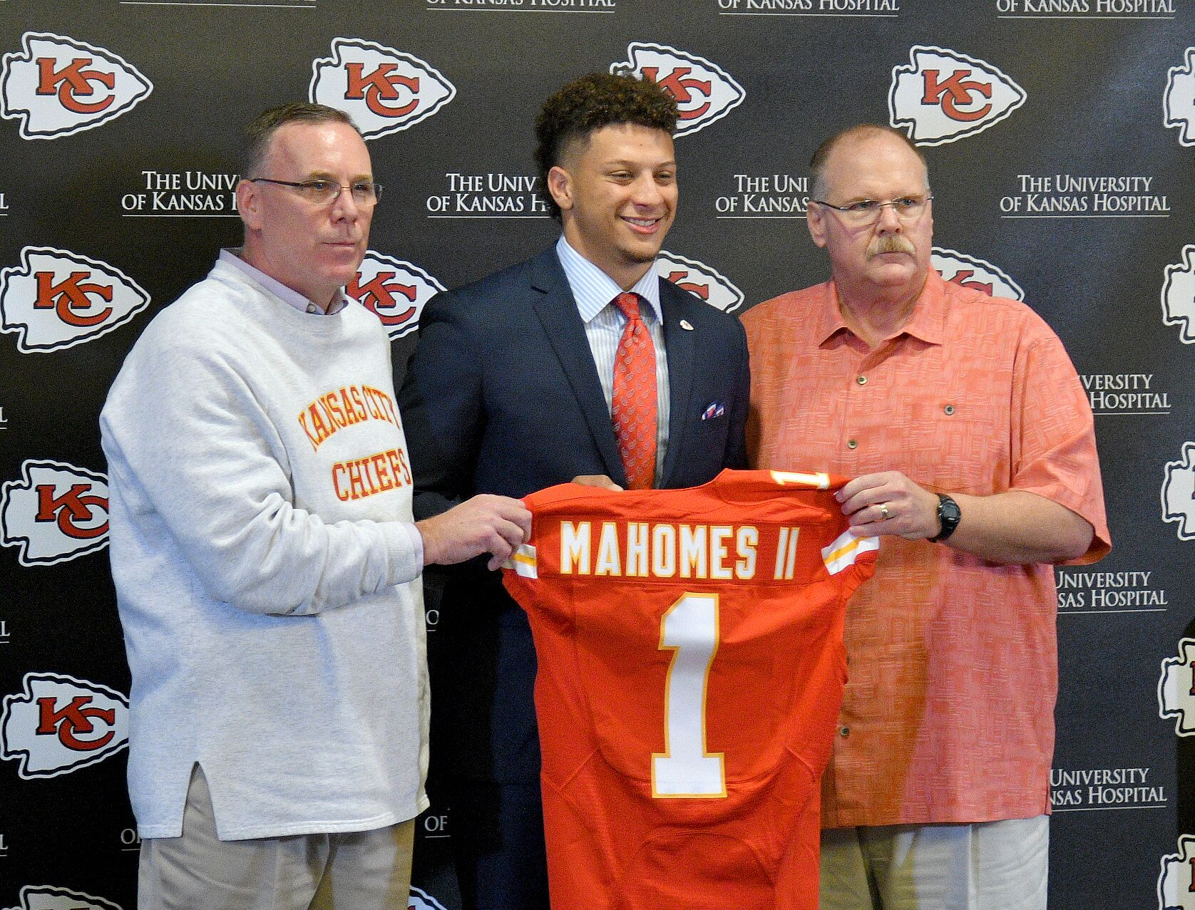 a5f7083f If nothing else, the Kansas City Chiefs drafting Patrick Mahomes was ...