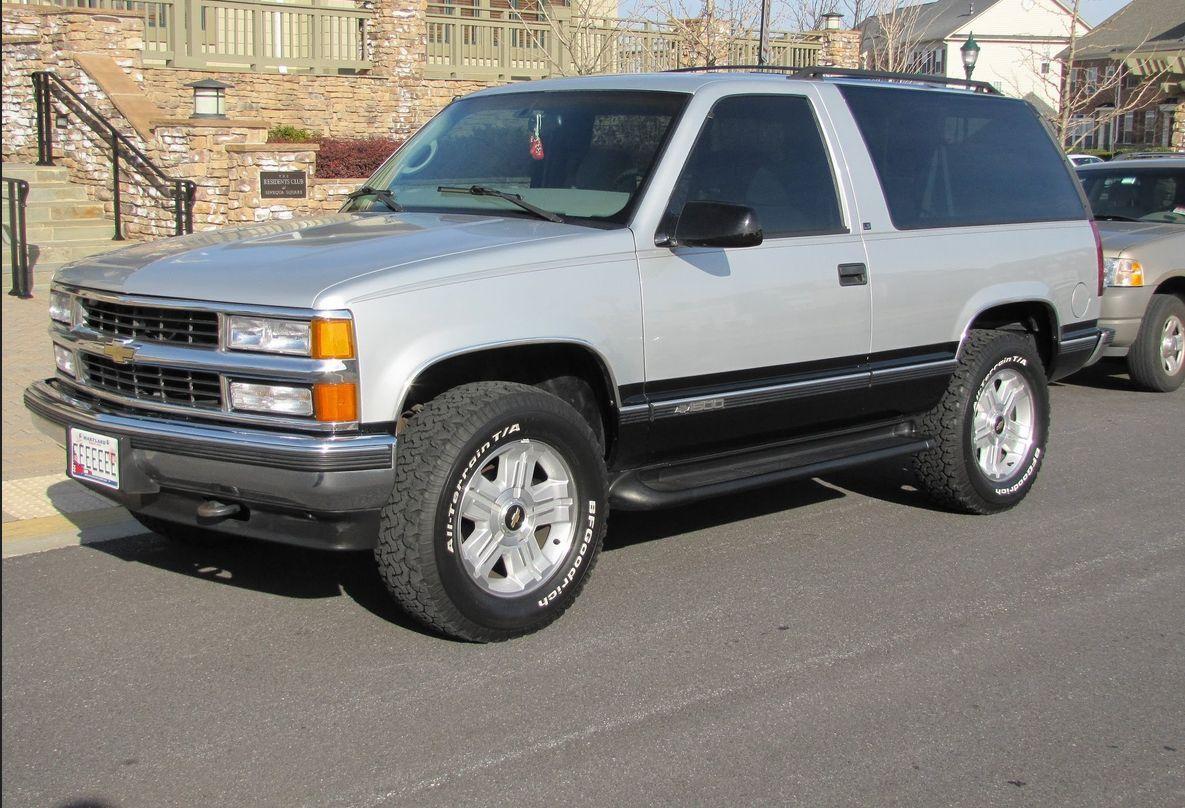 Tahoe 97 chevy tahoe : Spurs Kawhi Leonard Drives A '97 Chevrolet Tahoe