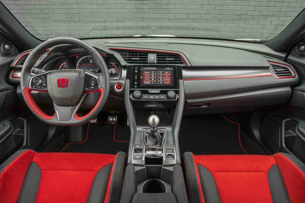 Stupendous 2017 Honda Civic Type R Art Of Gears Creativecarmelina Interior Chair Design Creativecarmelinacom