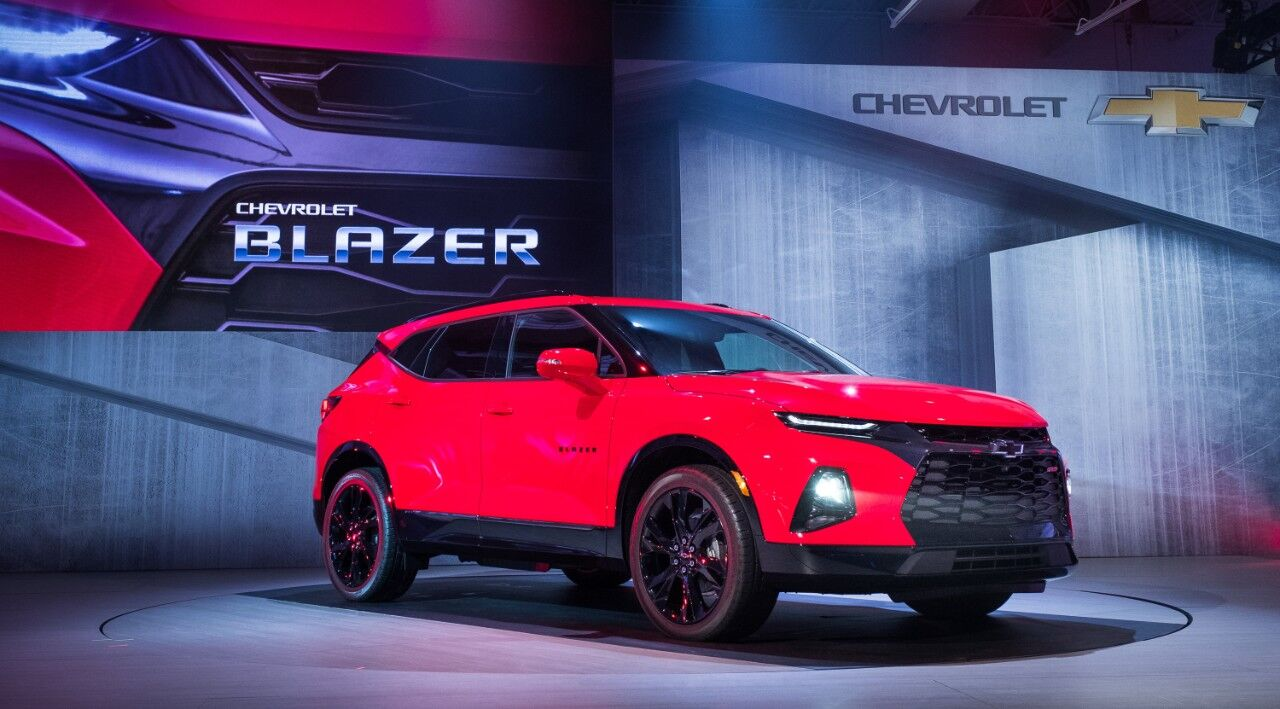 The Chevy Blazer curiously returns as a crossover